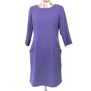 3/$35 Eliza J 3/4 Sleeve Midi Dress Size 8